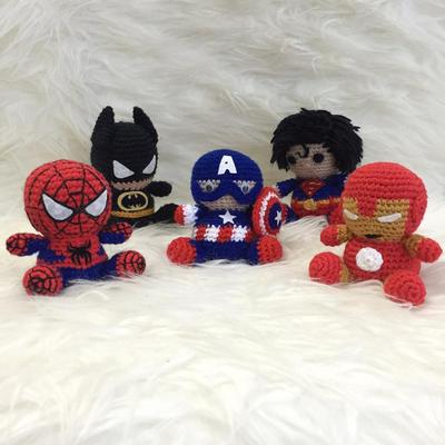 Amigurumi Spiderman Patron : donpatron - DIY PDF Patron Amigurumi Sencillo Crochet ...