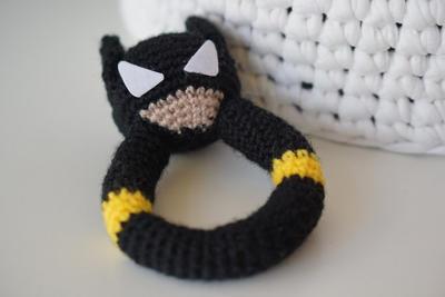 Amigurumi De Batman Patron : donpatron - DIY PDF Sonajero Batman Patron Amigurumi