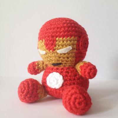 Iron Man Amigurumi Free Pattern : donpatron - Ironman amigurumi