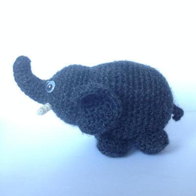 Patrón Amigurumi sencillo Elefante
