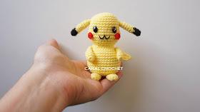 Amigurumi Pikachu Tutorial