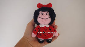 Mini Mafalda Tutorial Amigurumi