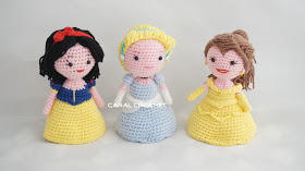 Princesas Disney Amigurumi Tutorial