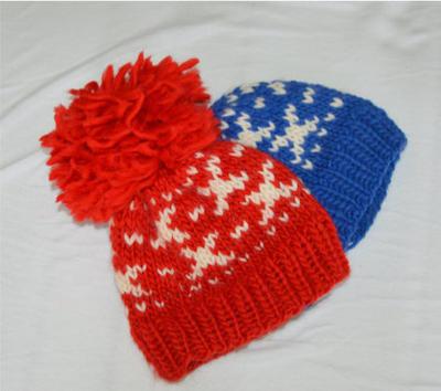 Invierno Pom Pom Hat