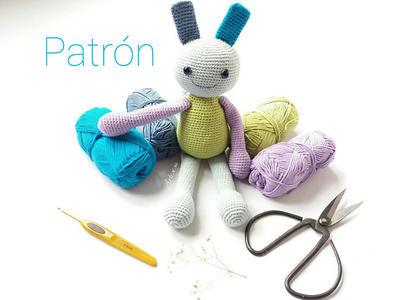 Patrón amigurumi muñeco básico a crochet