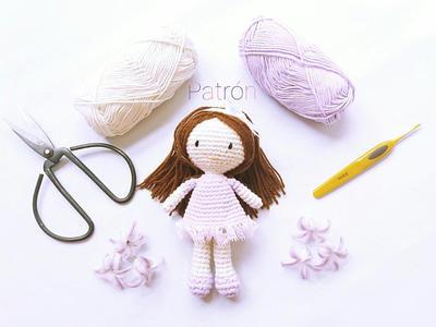 Patrón muñequita a crochet