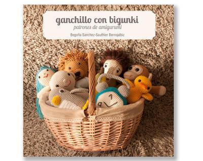 Libro patrones amigurumi - Ganchillo con Bigunki - edición español