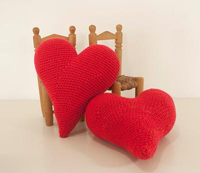 Patrón ganchillo corazón