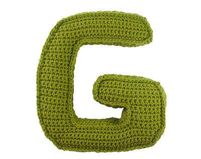 Patrón ganchillo letra G