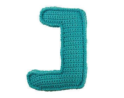 Patrón ganchillo letra J