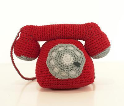 Patrón ganchillo teléfono