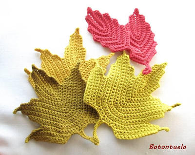 Patrones de hojas - donpatron