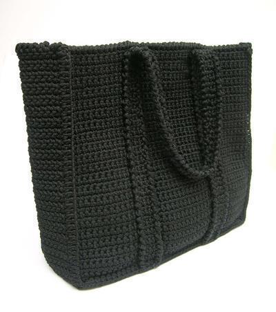 Patrón de ganchillo para bolso básico