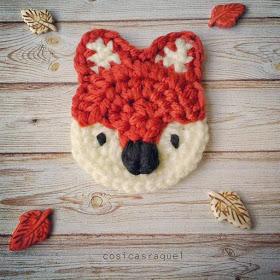 Broche Zorrito de Crochet