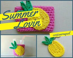 Piña Tropical a Crochet