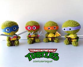 Tortugas Ninja Amigurumi