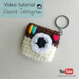 Video tutorial llavero Instagram