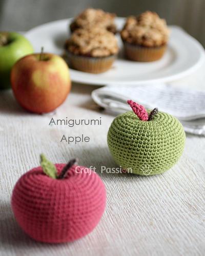 Amigurumi Manzana Patron : donpatron - Big Apple Amigurumi: Patron en espanol
