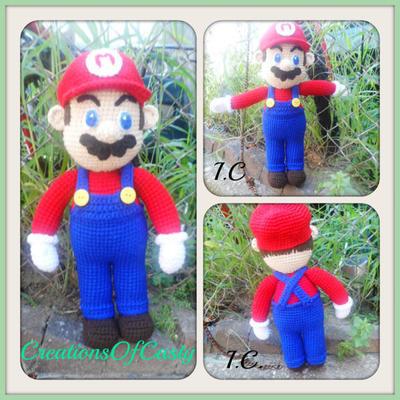 donpatron - Amigurumi Super Mario