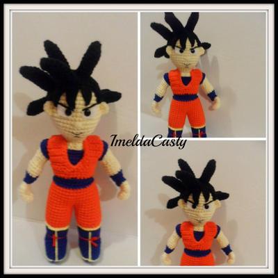 Goku de Bola de Dragón Z
