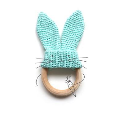 Mordedor Conejito de Crochet | donpatron