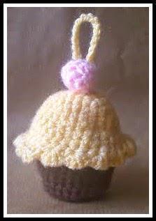 LLavero Cupcake