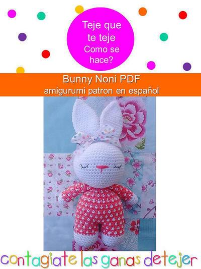 Patrón Amigurumi Bunny Noni
