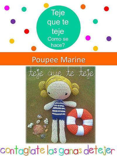 Patrón Amigurumi Poupe Marine