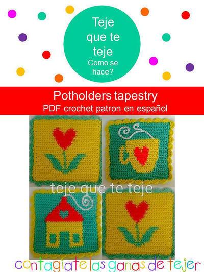 Patrón Posavasos de Tapestry