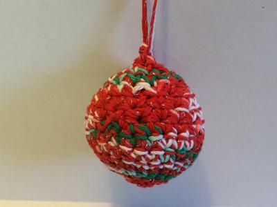 Patrón crochet para adorno de navidad