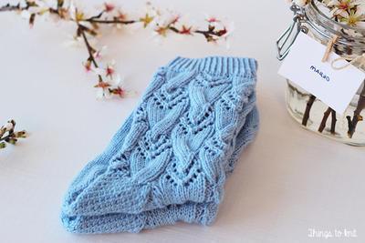 Preciosos calcetines primaverales