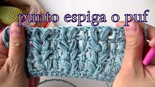 Glosario de puntos a crochet