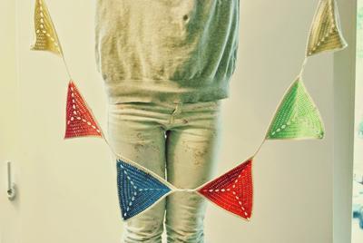 Guirnalda de crochet para tu fiesta de cumpleaños