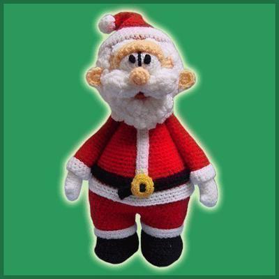 Amigurumi Papa Noel