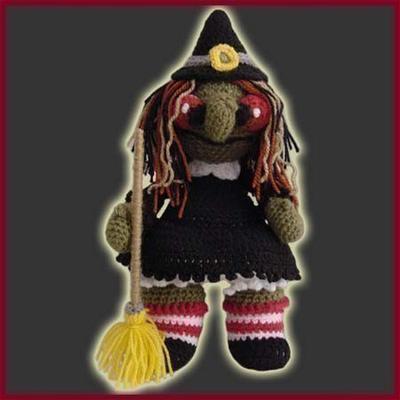 Bruja Fea Halloween