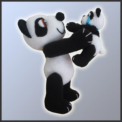 Osa Panda y Bebé Panda