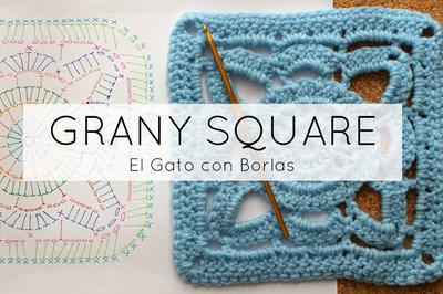Granny Square By el Gato Con Borlas