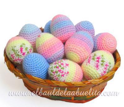 Huevos de Pascua Amigurumi (Primera parte)