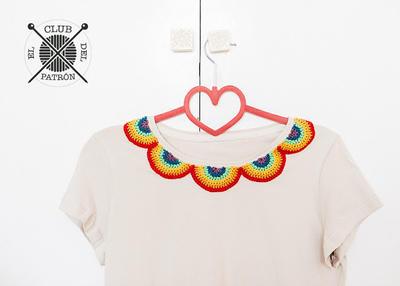 El Club del Patrón: Customiza una camiseta con ganchillo
