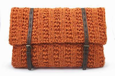 Tutorial bolso tricot