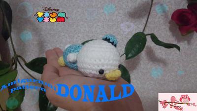 Tsum Tsum Donald amigurumi pattern