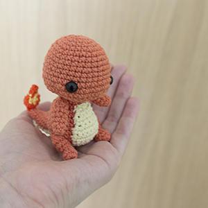 Ravelry: Pokémon Flat Charmander Amigurumi pattern by Codi Hudnall | 300x300