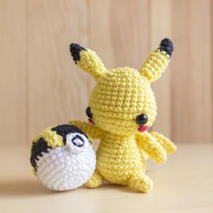 Patrón Amigurumi Pikachu