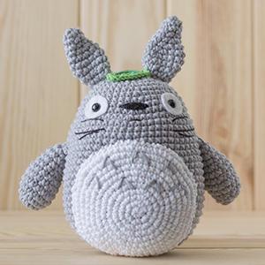 Patrón amigurumi Totoro
