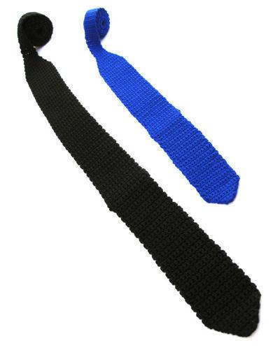 Corbatas a crochet