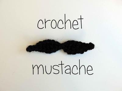 Bigote a crochet