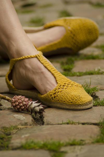 DIY Zapatos de Crochet