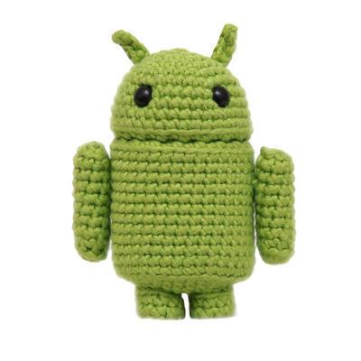 Andy the Android patrón Amigurumi