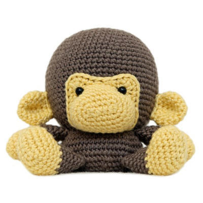 Fat Face Monkey Mono Amigurumi