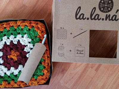 LALANÁ - KIT DIY Granny Square